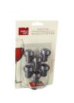 Vacuum Wine Stopper Grey Set Of 6