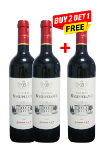 Chateau Bonesperance Bordeaux Rouge 75 Cl (Buy 2 Get 1 Free)