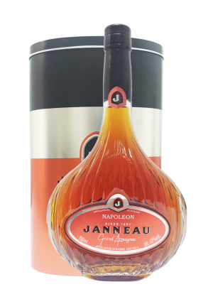 Janneau Napoleon Grand Armagnac 70Cl (Metal Box)