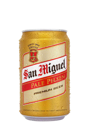 San Miguel Pale Pilsen Can 33 CL   X 24