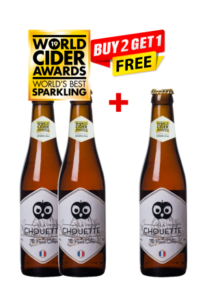 La Chouette Original Cider Bottle 33 Cl (buy 2 Get 1 Free)