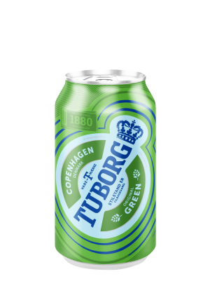 Tuborg Green Can 33 Cl X 24