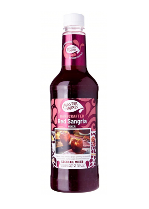 Master Of Mixes Handcrafted Red Sangria Mixer 1 Ltr