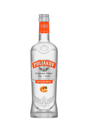 Poliakov Mandarine Vodka 70 Cl