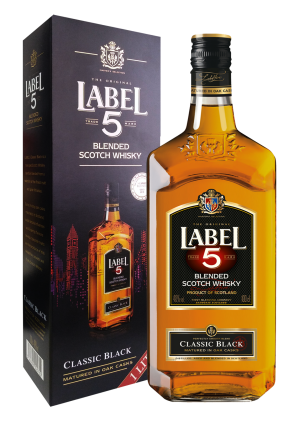Label 5 Whisky 1 Ltr