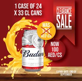 Budweiser Offer