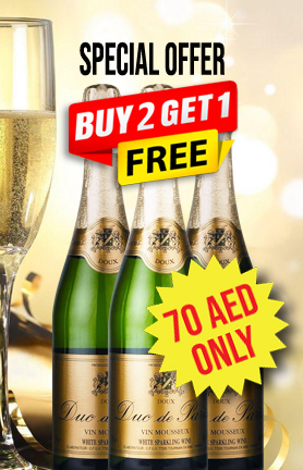 Duc De Paris Brut Sparkling 75 cl Buy 2 Get 1 Free Offer