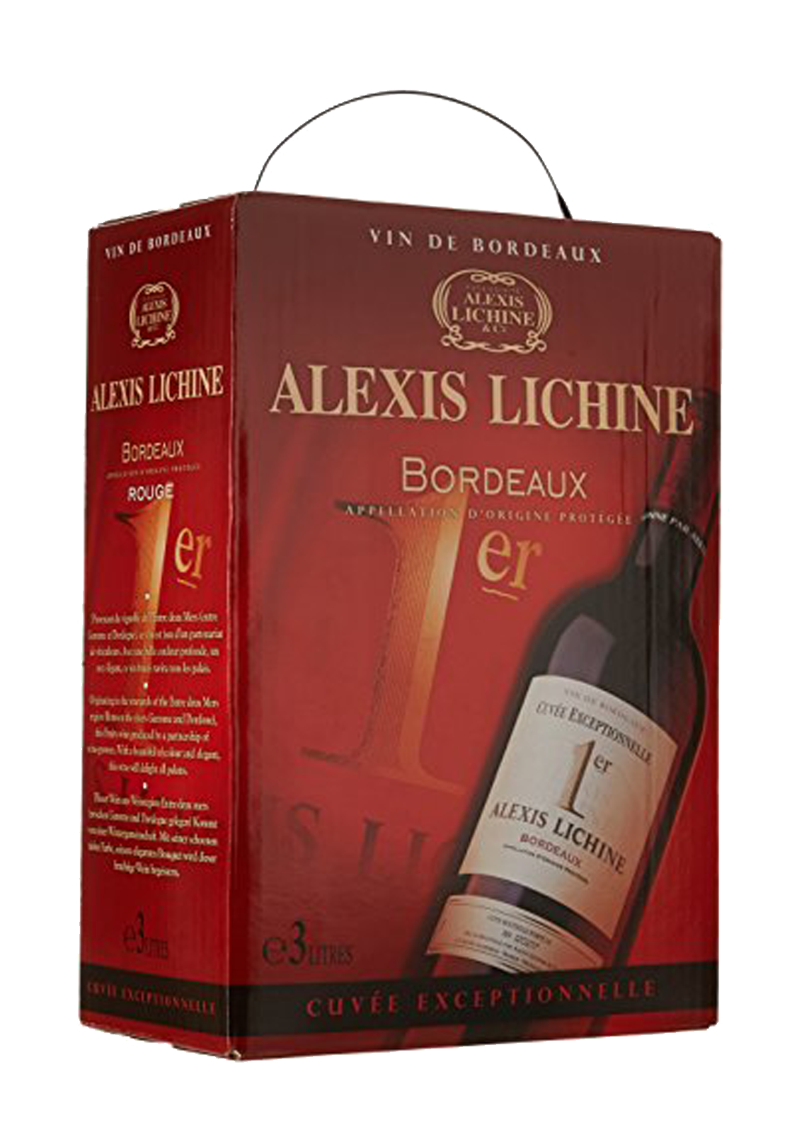 ALIXIS LICHINE AOP BORDEAUX RED 3LT