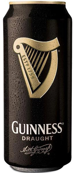Guinness Draught Beer Can (24 Cans)