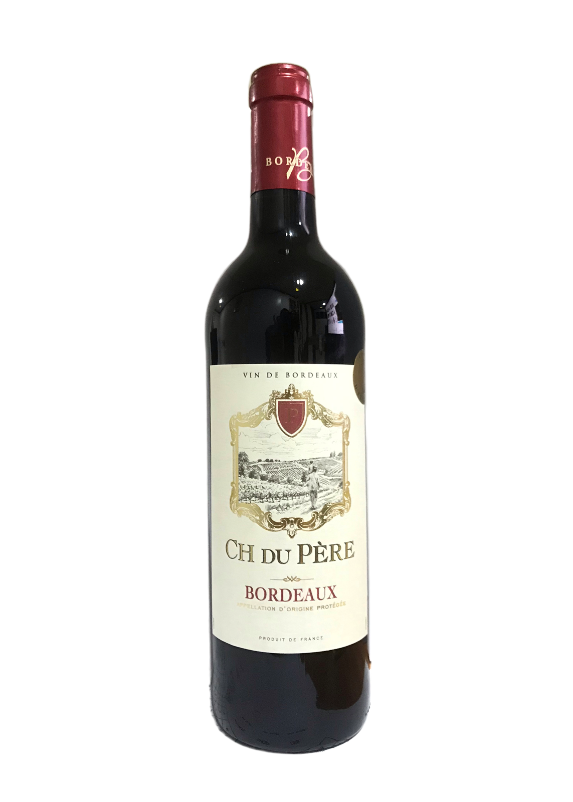 CH DU PERE BORDEAUX RED 75CL