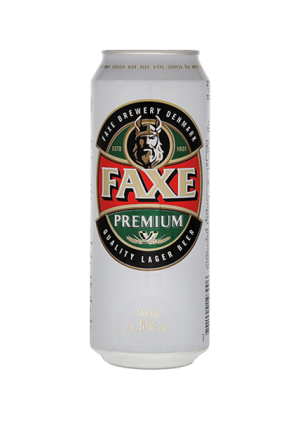 FAXE PREMIUM BEER 5% 50CL CAN (24 CANS)