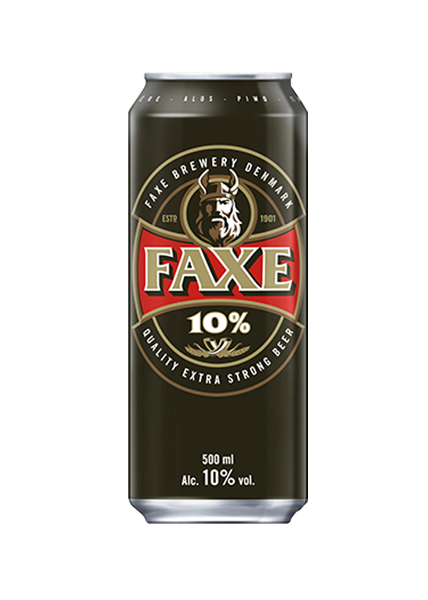FAXE BEER 10% 50CL CAN (24 CANS)