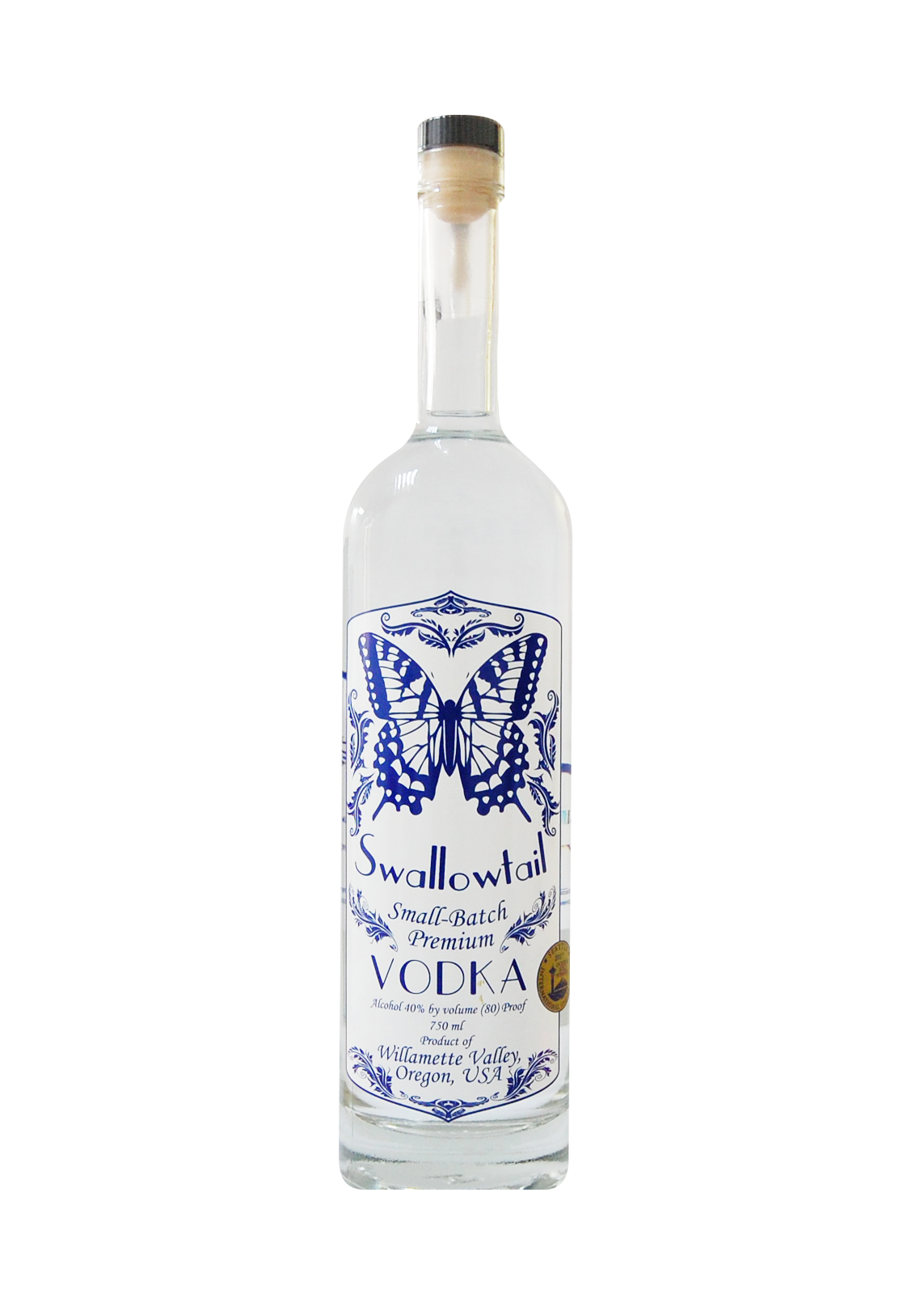 SWALLOWTAIL SMALL BATCH PREMIUM VODKA 75CL