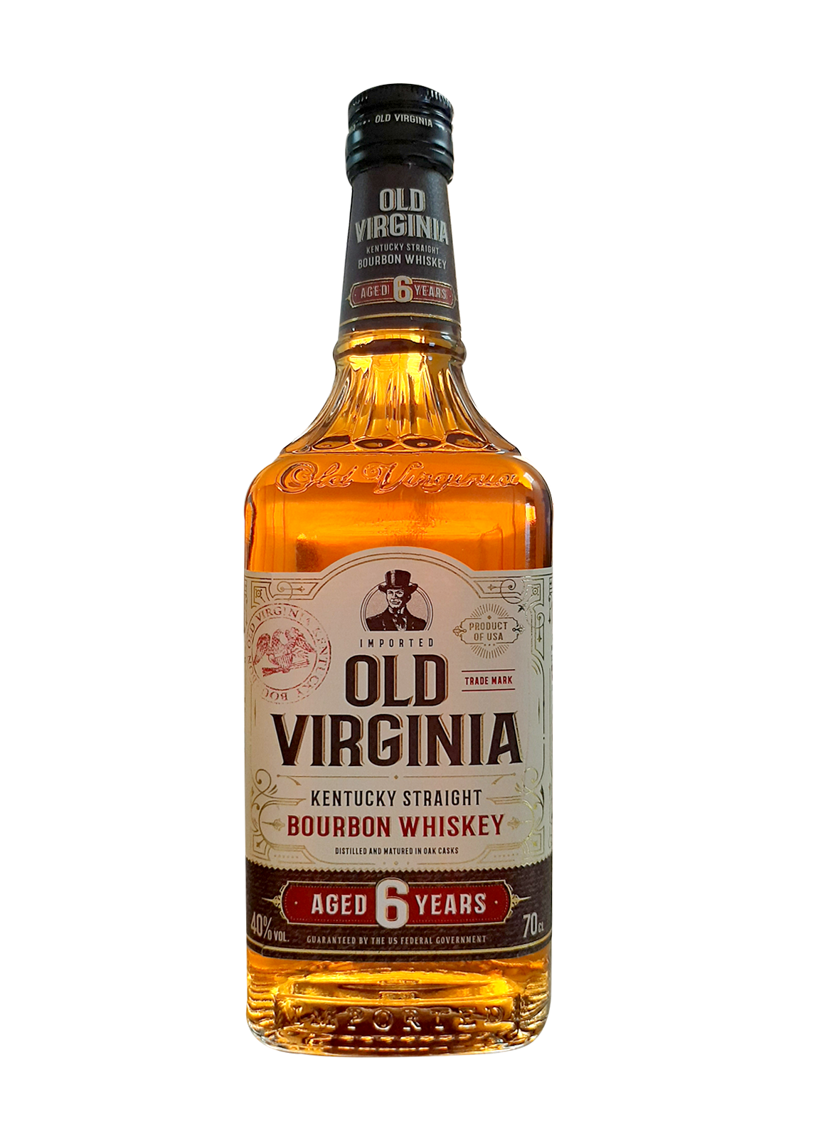 Old Virginia Bourbon Whisky 70 cl
